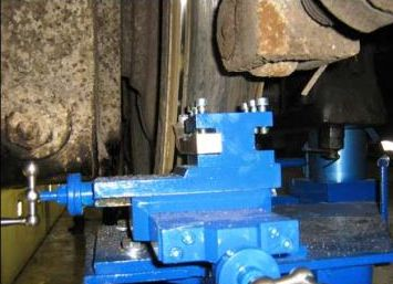 Locomotive wheel lathe 1AK200 ZIP