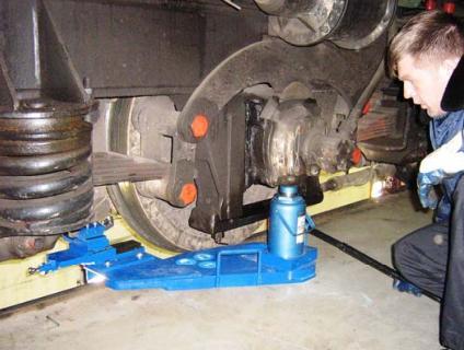 TEM-2 Locomotive wheel lathe 1AK200 ZIP