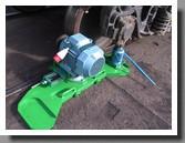 Railway wheel lathe 1AK200