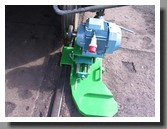 Mobile railway wheel lathe device 1AK200