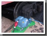 Railroad wheel lathe 1AK200