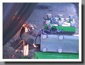Mobile Railroad wheel lathe 1AK200