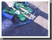 Railway wheel lathe device 1AK200